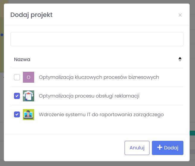 Dodawanie projektu - jak łatwo stworzyć i zarządzać portfelem projektów - blog o zarządzaniu projektami