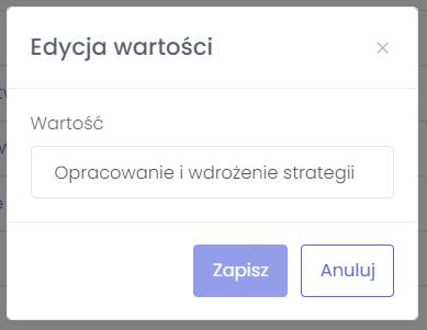 Kategoria projektu