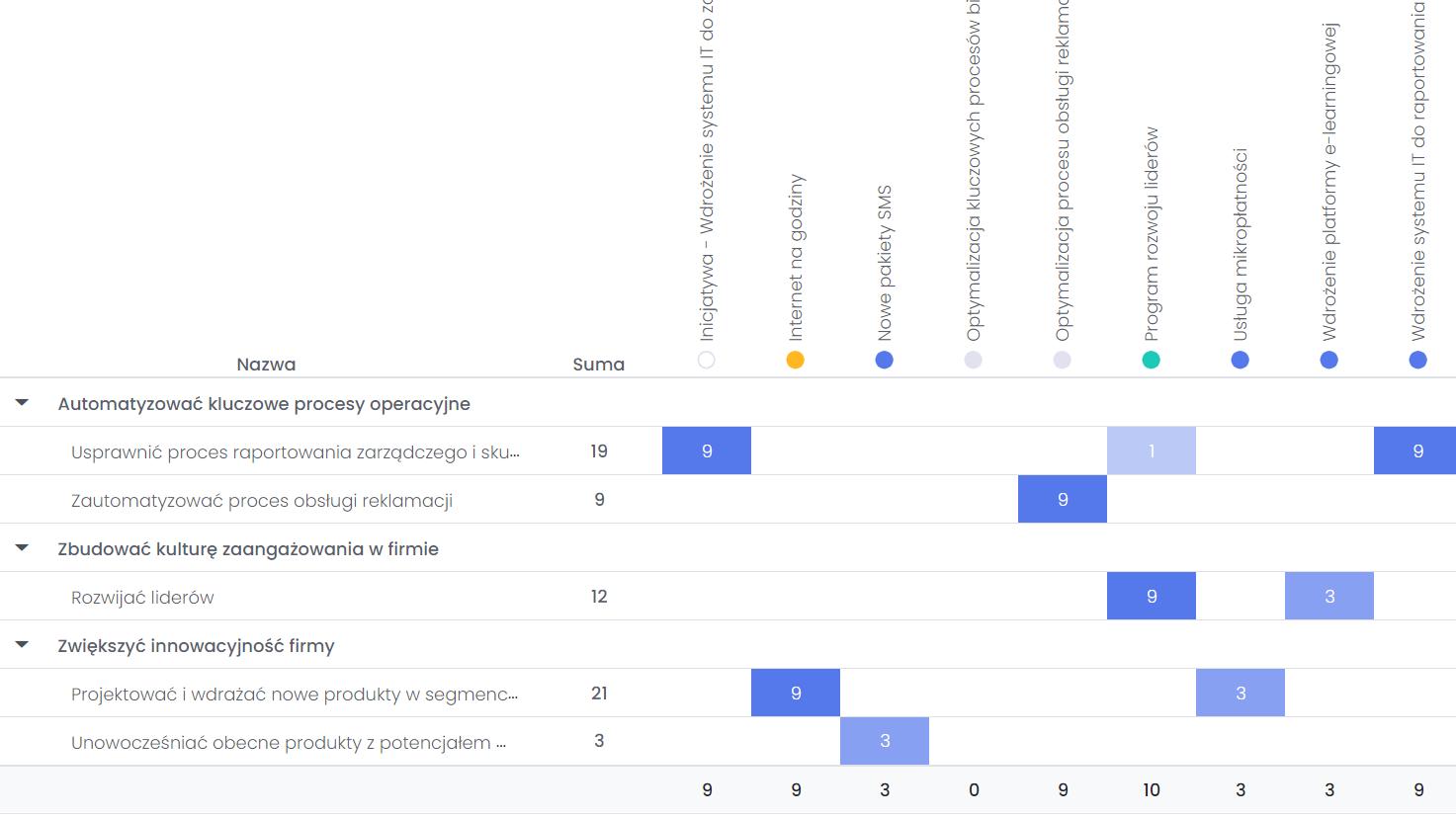 Tworzenie strategii firmy i określanie celów FlexiProject